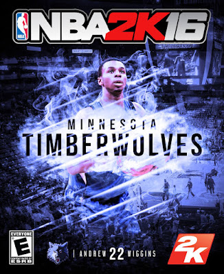 NBA 2K16 Custom Covers - Minnesota Timberwolves