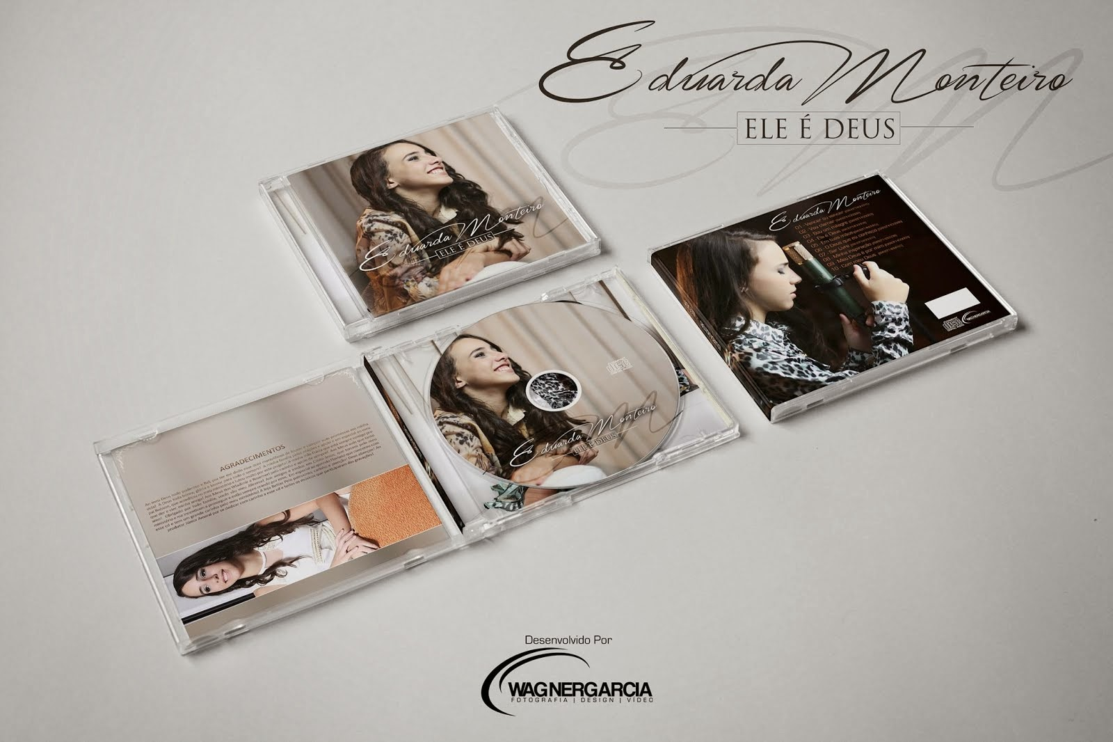 O CD de Eduarda Monteiro já está pronto. Deus é fiel Ele cumpriu oque prometeu