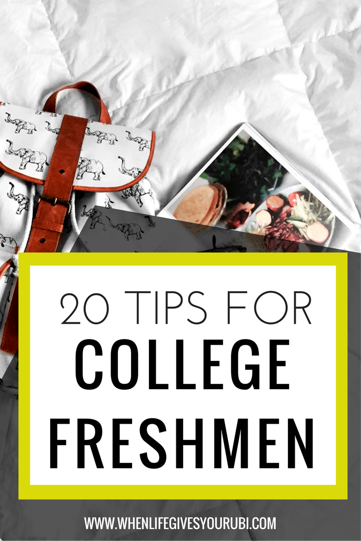 College dating advice for freshmen