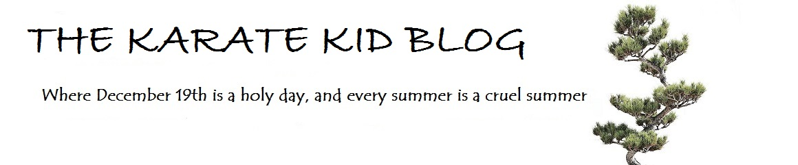 The Karate Kid Blog