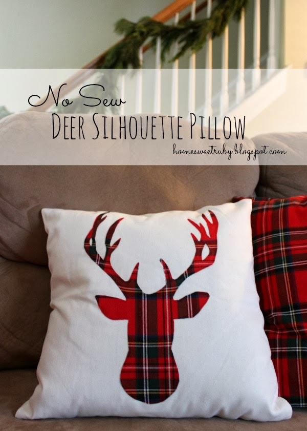 Deer pillow | Etsy
