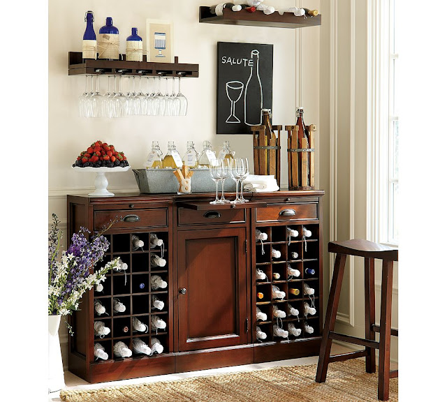 Swoon style and home february 2011 for How to set up a mini bar at home