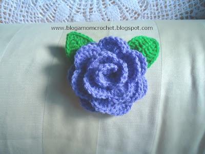 Dinah crochet how to crochet a rose 2 tutorial bunga ros ccuart Gallery