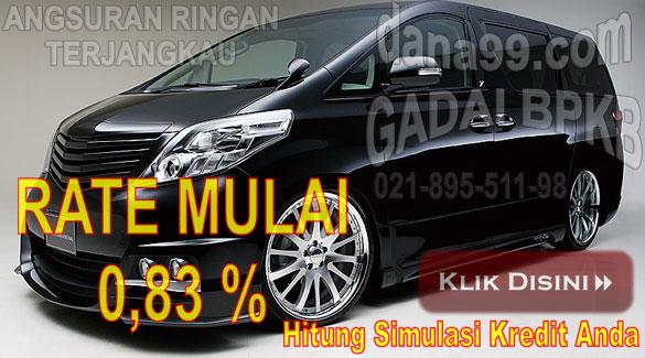 Pinjaman Dana Tunai Jaminan Gadai BPKB Mobil-Motor