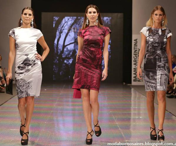 Colección Calandra otoño invierno 2014. Vestidos casuales invierno 2014.