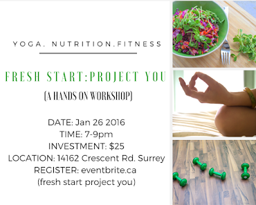 Upcoming Event: Fresh Start Project You