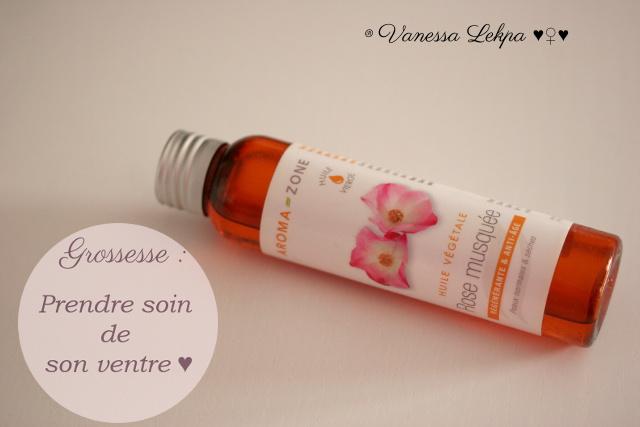 huile de rose musquée contre les vergetures pendant la grossesse , Vanessa Lekpa
