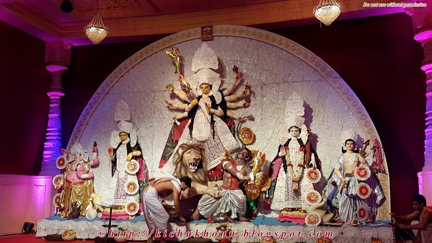 Durga puja 2014 pune congress bhavan