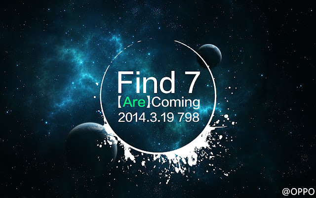Oppo Find 7 launch Teaser
