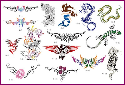 air_brush_tattoo_stencil_gallery_sheet