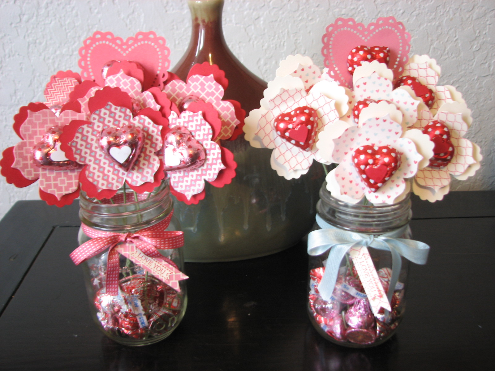 Aphroditenow Hearts On Fire A Bouquet Of Hearts And Candy In A Jar Its  Perfect For