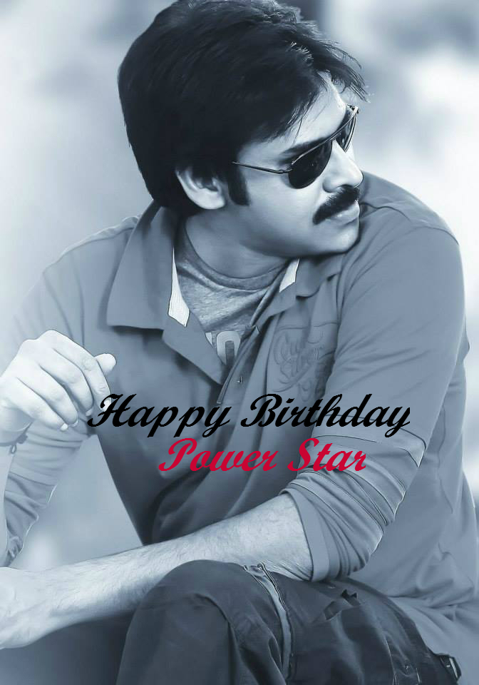 Pawan Kalyan Birthday Special Hd Images Happy Birthday Power Star