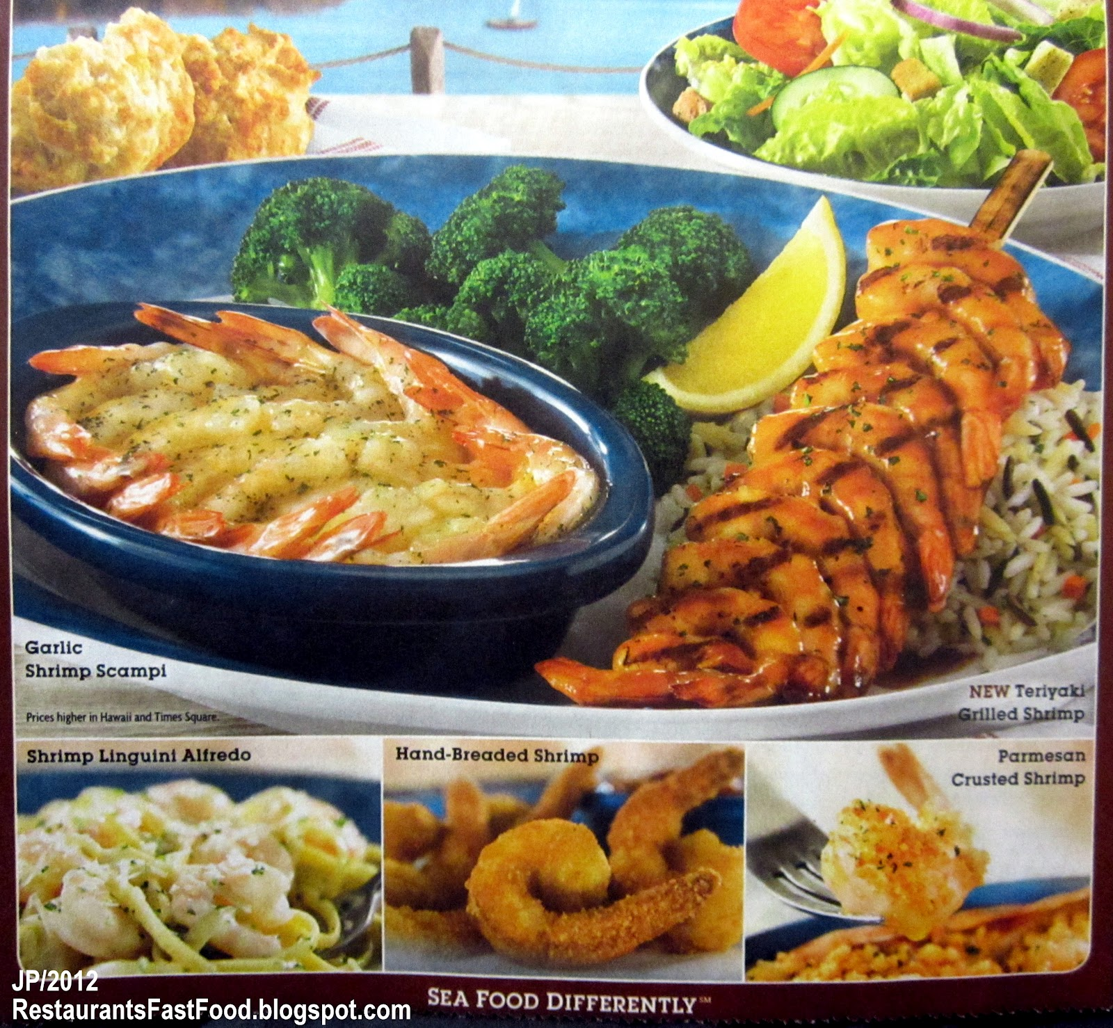 What to eat at red lobster on a diet