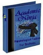 Academic Ninja: Psychological Tactics for Students ($10)