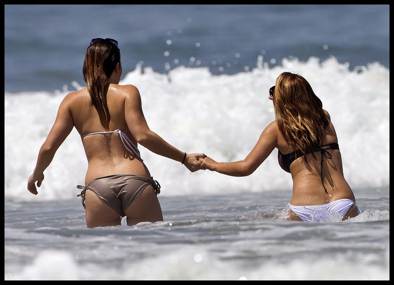 Bikini adolescentes modelos en ohp