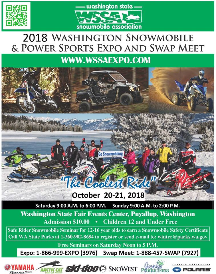 2018 Washington Snowmobile  & Power Sports Expo & Swap Meet