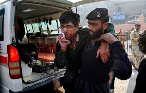 Terrorist Attack on Pakistani School,124 Children Killed