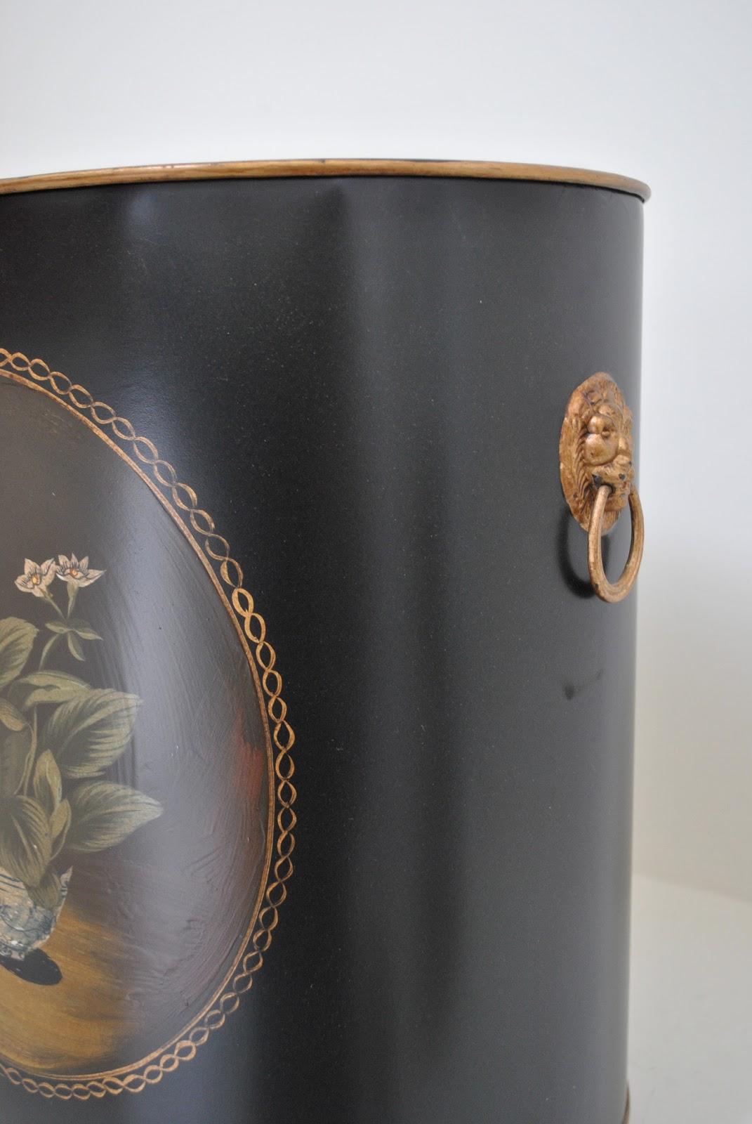 Decorative Wastebasket For Powder Room