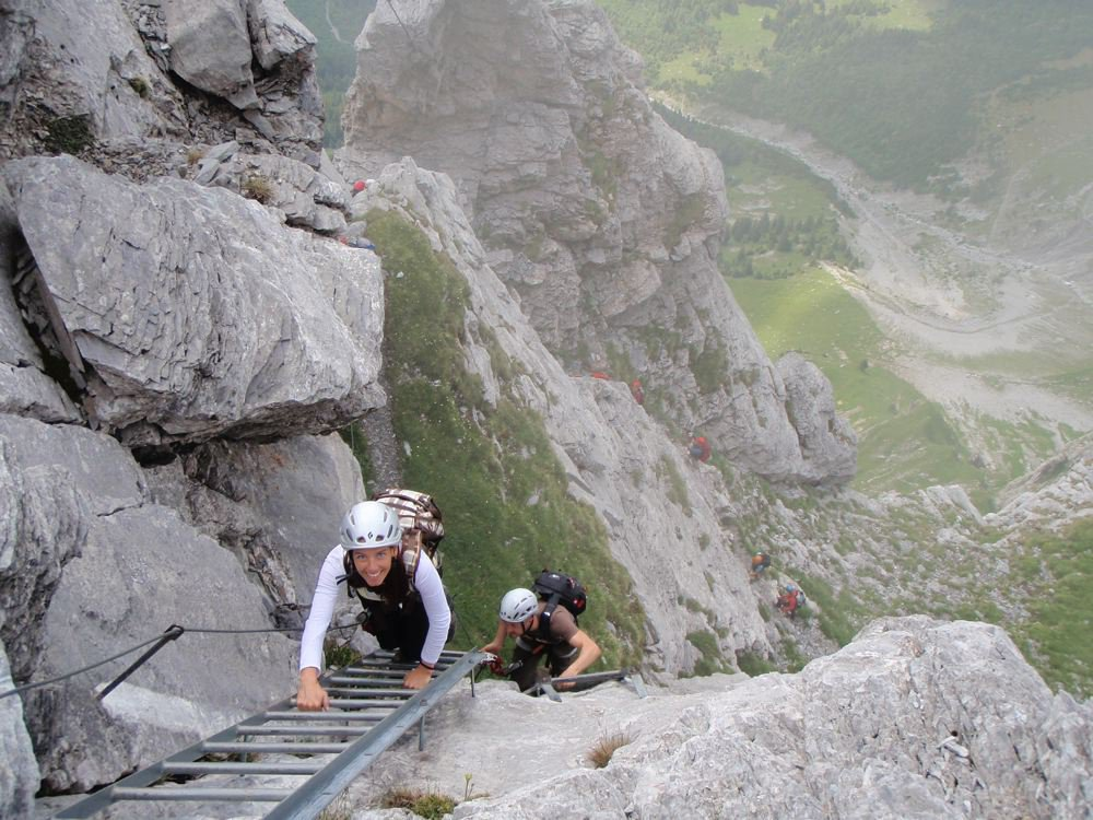 Klettersteig Tälli : Klettersteige tälli