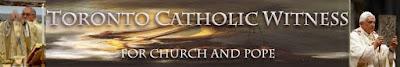 TORONTO CATHOLIC WITNESS