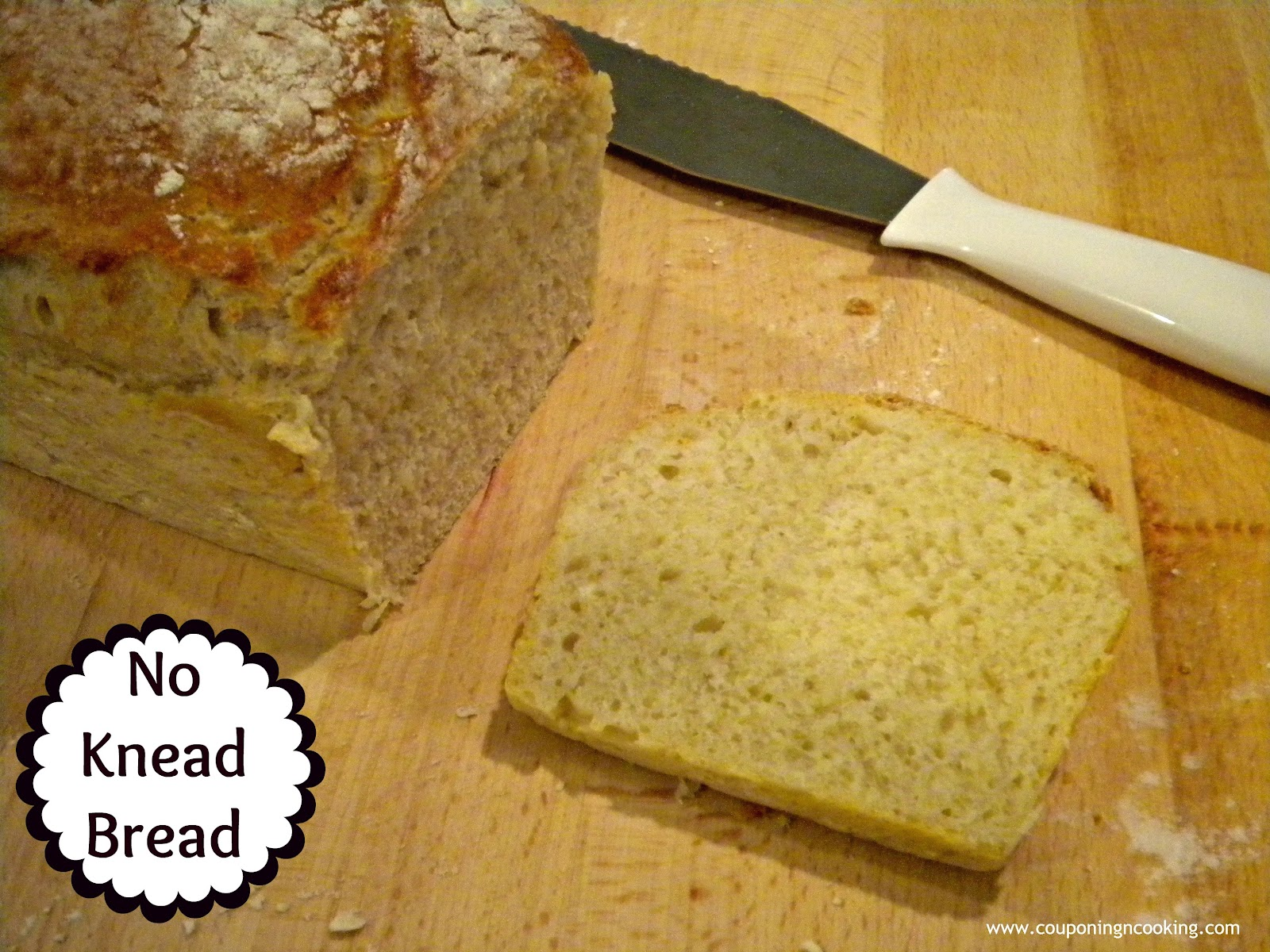 Basic No-Knead Bread Recipe — Dishmaps