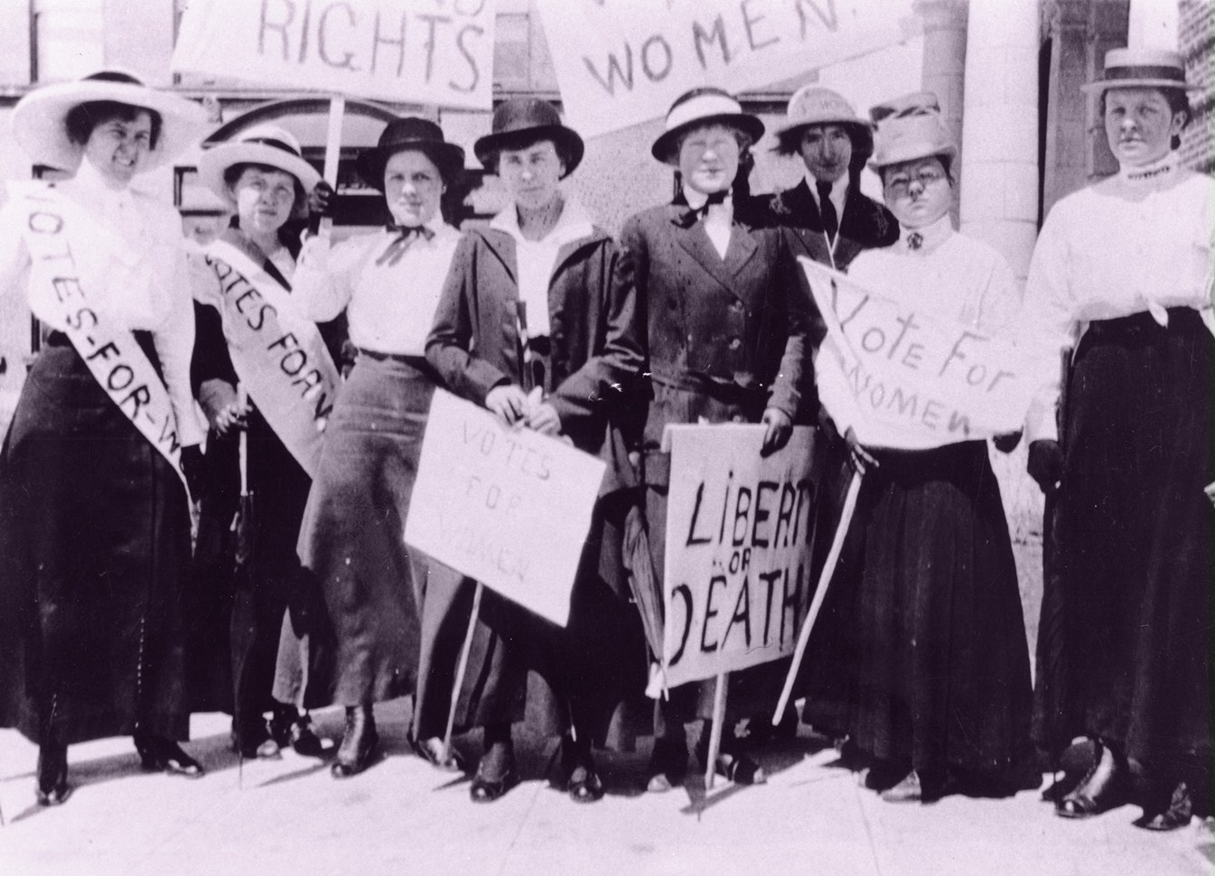 on womens right to vote by In 1891, a handful of determined women from the woman's christian temperance union and the victorian temperance alliance, together with other suffrage groups, went door-to-door with a petition to gain the right to vote for victorian women.