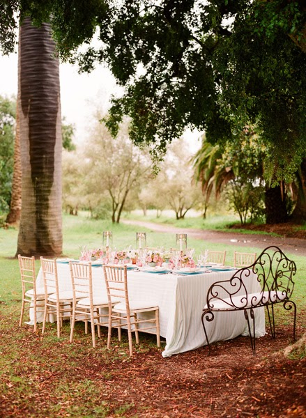 Bautizo Decoracion Jardin ~   de la mesa para una boda en el jardin  Decoracio Nesdotcom