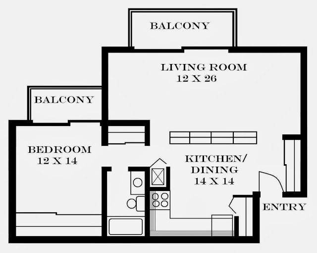 Pinterest studio apartment ideas apartment design ideas for One bedroom efficiency apartment plans