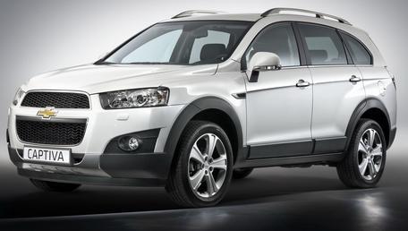 Spesifikasi dan Review Mobil Chevrolet Captiva