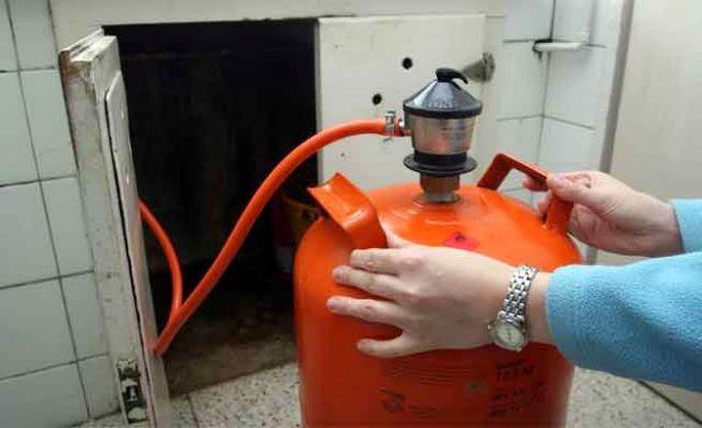 fuga de gas natural