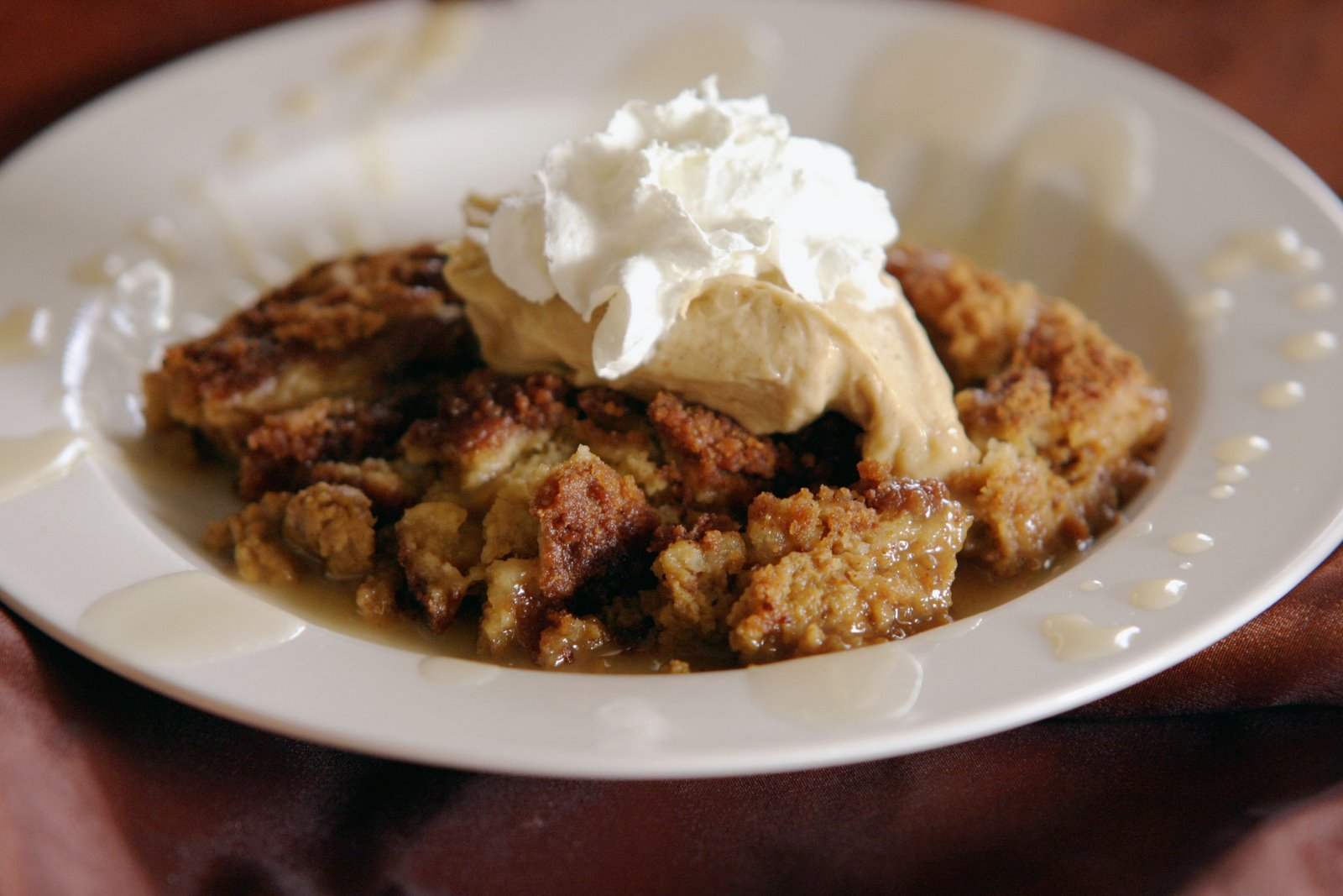 of scoops or until barely golden pumpkin cobbler with custard
