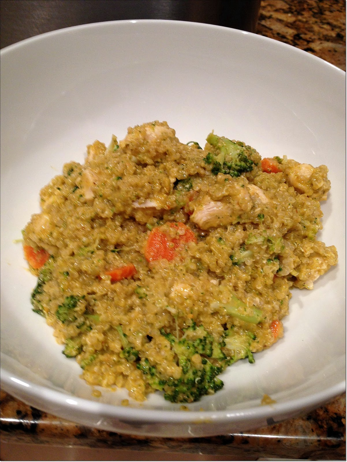 Spicy Thai Coconut Quinoa Recipe