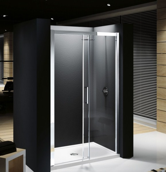Shower enclosures trays from vesta bathrooms for 1300 sliding shower door