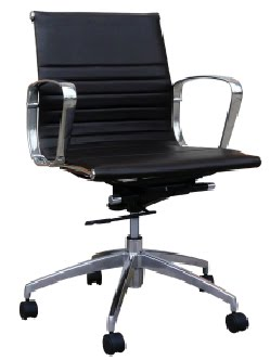 Low Back Leather Chair