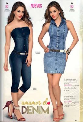 ropa de mujer en denin 2015