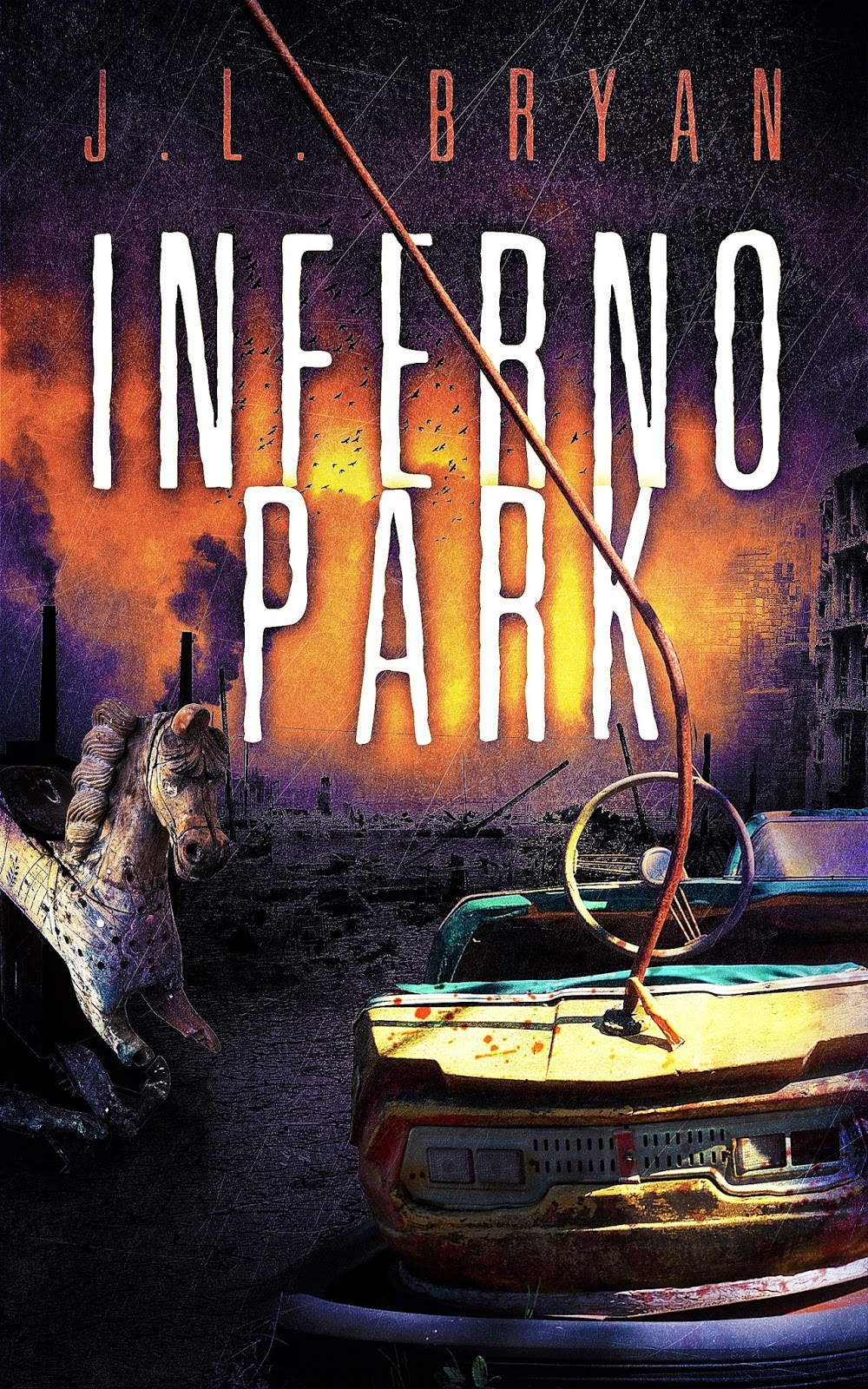 Cover For Inferno Park  An Amusement Park Horror Novel,ing Soon!