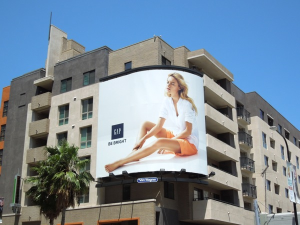 Gap summer 2013 billboard
