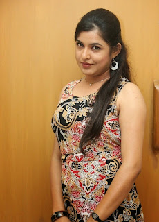Actress Bhavani Agarwal Pictures in Short Dress at Welcome to America Audio Launch 27.jpg
