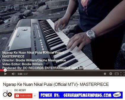 Single Baru Masterpiece 2015 'Ngarap Ke Nuan Nikal Pulai'