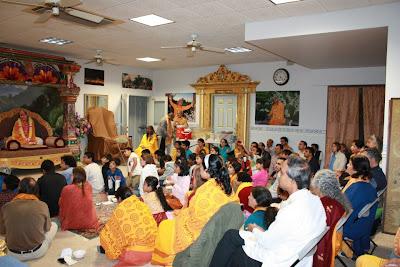 Thanksgiving retreat with Siddheshvari Devi at Radha Madhav Dham 12