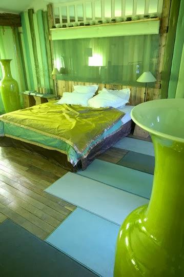Fotos de dormitorios color verde colores en casa for La chambre verte truffaut download