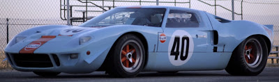 1968 Ford GT40 in Gulf Racing Livery Sells for Record $11 Million