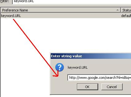 how to make google default search engine mozilla firefox