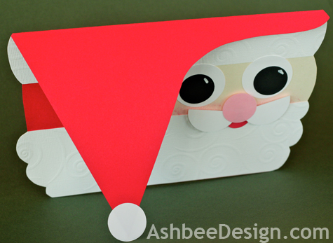 Ashbee Design Diy Santa Christmas Card 2011 A Year Later