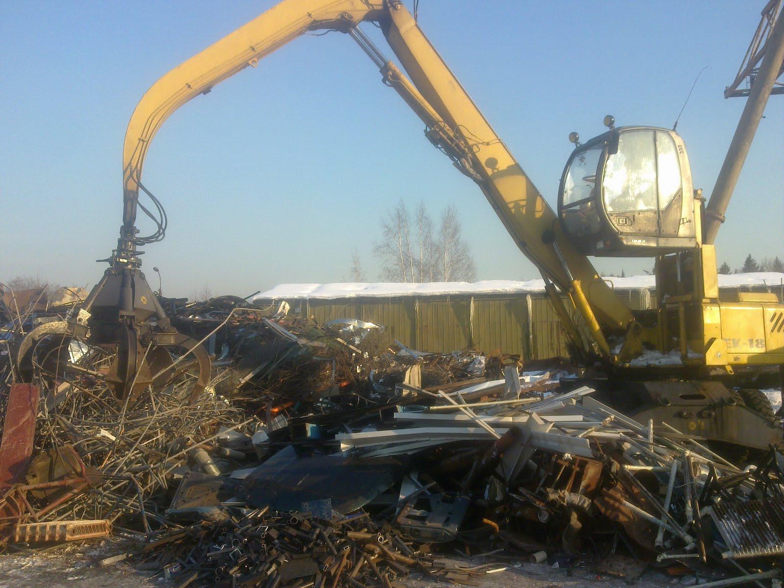 Прием металлолома самовывоз в Павловский Посад прием черного металла с вывозом в Ботово