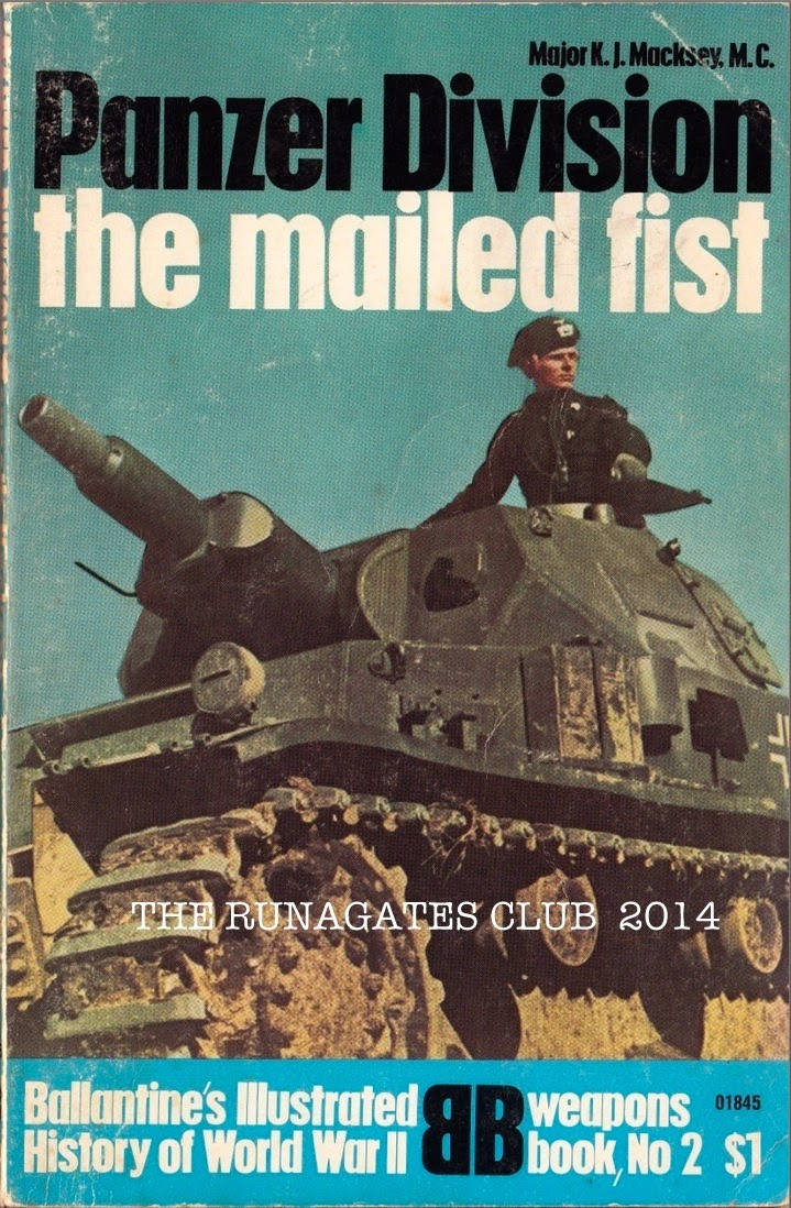 PANZER DIVISION, author Major K.J. Macksey, Ballantine's, New York, 1968
