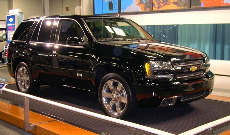 Modifikasi Mobil Chevrolet Trailblazer SS