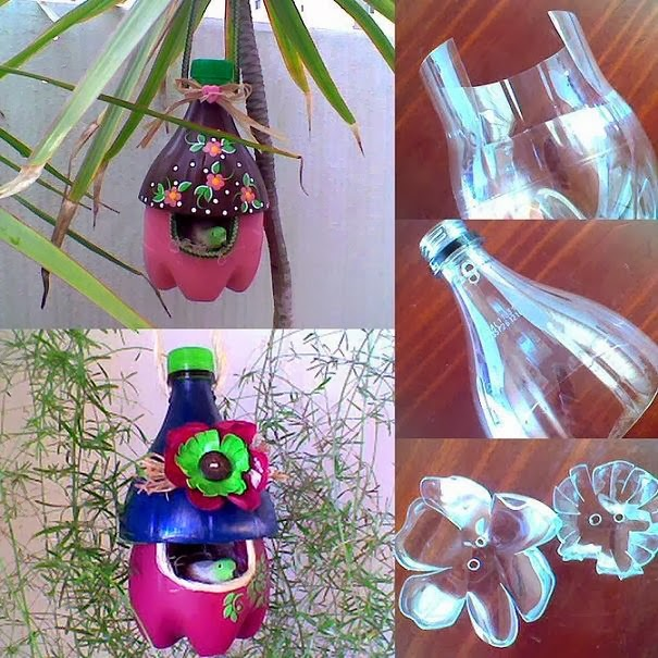 Plastic Bottle Nest (Diy Tutorials )...