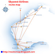 Skywest Airlines logo. IATA code : XR ICAO code : Aircraft Registration (N1) (skywest airlines routes map)