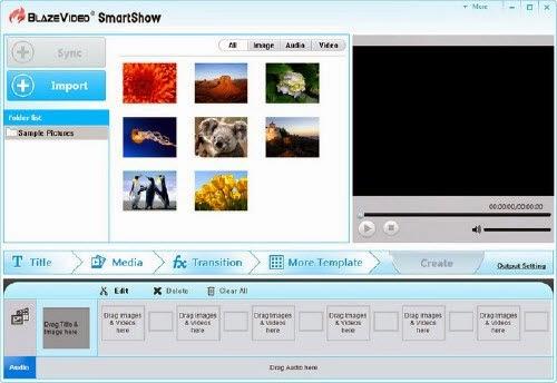 BlazeVideo SmartShow 2.0.1.0